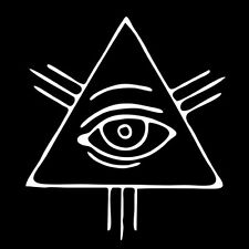 ILLUMINATI TRINITY EYE (new world order god of providence nwo symbol) T-SHIRT