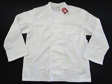Chef Works WCCW-WHT le mans Basic Chef Coat White New with tags size L,XL