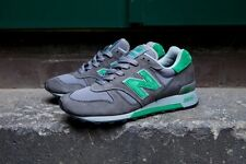NEW BALANCE 1300 GREY/GREEN MADE IN USA M1300LM Size 7.5-13
