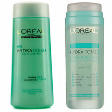 LOreal Hydra Total Revitalising Toner Normal/Comb or Mattify Icy for Shiny Skin