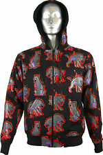 Crazy Hoodie Reversible Mens UK Clearance New Emo Goth Punk Alternative