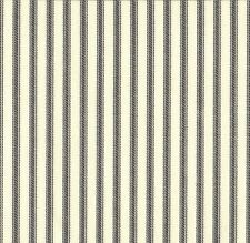 French Country Ticking Stripe Brindle Gray Twin Comforter Cotton Reversible