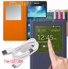 FC Smart New Wake Sleep S View Flip Case Cover for Samsung Galaxy Note 3  N9000