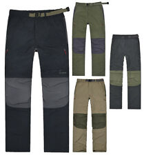 Mens Hiking Outdoor Camping Breathable Convertible Pants Trousers Shorts New