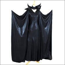 Newest Disney Maleficent Evil Queen Black Angelina Jolie Act Cosplay Costume