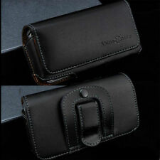 Genuine Cowhide Leather Pouch Holst Belt Clip Case For Samsung iPhone Sony HTC