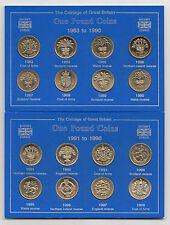 UK One Pound £1 Coin 1983 to 1998 - Choose your year