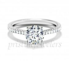 925 Sterling Silver CZ Women Wedding Band Engagement Promise Ring Size 5 6 7 8 9