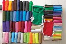 Small Bulk Lot of 25 Color  Plain Blank T-Shirt Solid Wholesale Small-XL