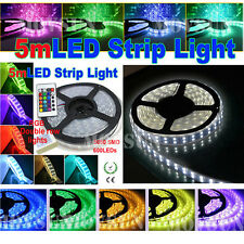 5M 300/600led Non/Waterproof  IP65/IP67/IP68 5050SMD Flexible Strip Light 12/24V