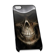 Cover for iPhone 4/5 Case #151 - Skull Scary Gift Idea Grim Reaper Goth Fantasy