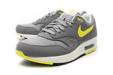 Nike Air Max 1 PRM [512033-070] NSW Running Cool Grey/Sonic Yellow-Black-Sail