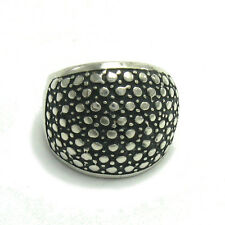 R001417 HEAVY STERLING SILVER RING SOLID 925 NEW