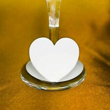 50 x Heart wine glass tag name place card for wedding Party