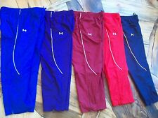 NEW $50 Mens Under Armour Advance Allseasongear Track Pants 1222185 warmup wind