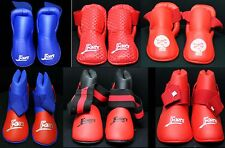 XS karate Fight safety kicks boots foot shoes protector martial arts kickboxing