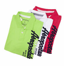 Aeropostale Men Short Sleeve Solid Graphic Jersey Polo Shirt Style 4167 $0 Ship