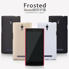 Nillkin Frosted Shield Matte Cover Case + LCD Guard For OPPO Find 7 X9007