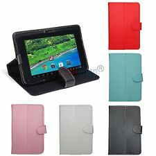 Folding Universal PU Leather Stand Case Cover Skin for RCA 7 Inch Android Tablet