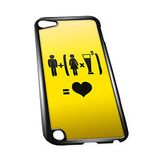Cover for iPod 5G case #324 Funny Drunk Gift Idea Mens Present Beer Goggles