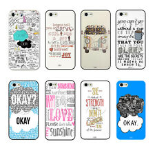 The Fault in Our Star Love Story Quote Hard Case Design For iPhone4 4s 5 5s 5C