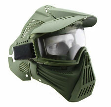 Adjustable Airsoft Tactical Full Face Guard Goggles Mask Protector #GB