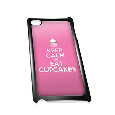 Cover for iPod 4G case #200 Keep Calm and Eat Cupcakes Funny Gift Idea Food