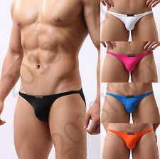 Men's Mini Swim Briefs Bikini Swimwear Swimsuit Beachwear Underwear Size S M L