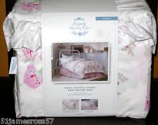ESSEX ROSE DUVET COVER SET - simply shabby chic - TWIN or KING