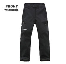 Women's Winter Windproof Soft Shell Trousers Snowboard Waterproof Pants Outdoor