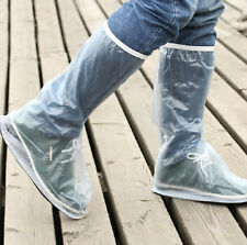 Waterproof Rain Shoes Cover High-Top Men for Motorcycle Bicycle Riding Overshoes