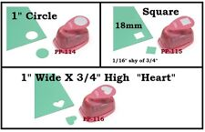 "25mm 1"" Circle Paper Punch OR Square Paper Punch OR Heart Paper Punch DIY Crafts"