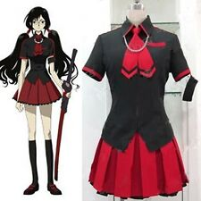 Blood-C Kisaragi Saya School Uniforms Cosplay Costume Halloween Uniform S-XL