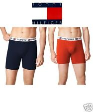 Tommy Hilfiger Navy Orange 2 Pack Boxer Briefs Big and Tall 2X 3X 4X 5X 6X