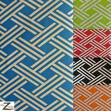 "PREMIUM LATTICE CANVAS OUTDOOR FABRIC WATERPROOF - 5 Colors - 54/56"" WIDTH"