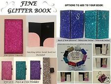 FINE Glitter Bling Waitstaff Server Book Decorative and Super Shiny!