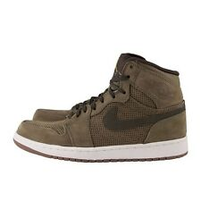 MEN'S NIKE AIR JORDAN 1 HIGH RETRO PREMIER 332134-331 DARK ARMY URBAN HAZE I