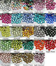 1440~7200pcs Gava Hoftix Flat back Rhinestones SS16~SS20 Multiple Color Crystal