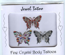 PRETTY BODY JAPAN DESIGNED BUTTERFLIES TRIPLE TREAT FOR PRICE OF ONE TATTOOS