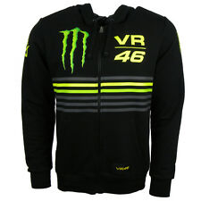 2014 Official Valentino Rossi Monster Energy VR46 Moto GP Stripe Hoodie