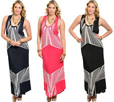 XL 2X 3X PLUS SIZE Women Long Maxi Summer Beach Sundress Evening Gown/Sexy Dress