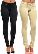Hot Women's Casual Stretch Skinny Leggings Pencil Pants Trousers Slim Fit