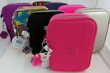 NWT Kipling 100 Pens Large Case Pen Case Cosmetic Box With Monkey