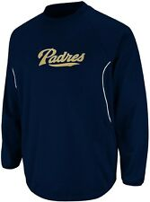 San Diego Padres Majestic Authentic Therma Base Tech Fleece Big & Tall Sizes