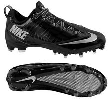 New Mens NIKE Zoom Vapor Carbon Fly 2 TD Low Black Silver Molded Football Cleats