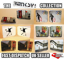 BANKSY COLLECTION OYSTER WALLET TRAVEL / CREDIT CARD BUS PASS HOLDER SMART CARD