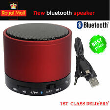 NEW BLUETOOTH WIRELESS MINI PORTABLE SPEAKER FOR MOBILE SMART PHONES IPHONE