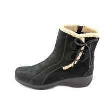 Clarks Angie Madi Women's Bendables Winter Boot Black Suede Style # 35610