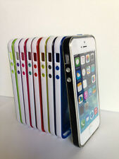 Clear Soft Silicone Gel Skin Bumper TPU Matte Case Cover for Apple iPhone 5 5S