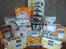 Chocolate fountain complete party pack dipping items for For 50 people